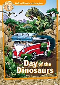 """<font title=""""Oxford Read & Imagine 5: Day of the Dinosaurs (Student Book)"""">Oxford Read & Imagine 5: Day of the Dino...</font>"""
