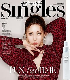 "<font title=""싱글즈 Singles (월간) 8월호 B형 + [부록] 비브 차가 리차징 크림 미스트 100ml"">싱글즈 Singles (월간) 8월호 B형 + [부록]...</font>"