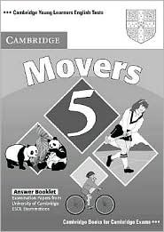 """<font title=""""Cambridge Young Learners English Tests Movers 5 Answer Booklet (Paperback) """">Cambridge Young Learners English Tests M...</font>"""