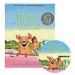 """<font title=""""Mercy Watson Goes for a Ride (Paperback+CD)"""">Mercy Watson Goes for a Ride (Paperback+...</font>"""