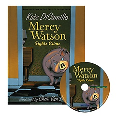 Mercy Watson Fights Crime (Paperback+CD)