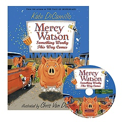 """<font title=""""Mercy Watson Something Wonky This Way Comes (Paperback+CD)"""">Mercy Watson Something Wonky This Way Co...</font>"""