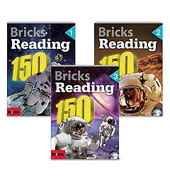 Bricks Reading 150 1-3권 패키지 세트