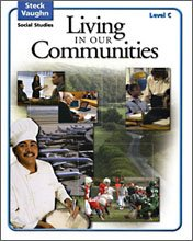 "<font title=""Steck-Vaughn Social Studies Level C : Living in Our Communities (Paperback, Answer Key 미포함)"">Steck-Vaughn Social Studies Level C : Li...</font>"
