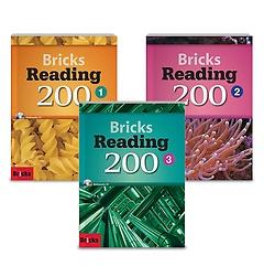 Bricks Reading 200 1-3권 패키지 세트