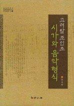 고려말 조선초 시가와 음악형식