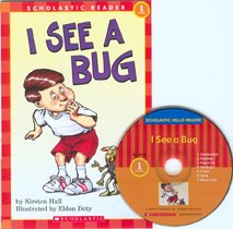 I See a Bug - Scholastic Hello Reader CD Set Level 1-16 (Paperback+Audio CD)