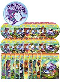 "<font title=""The Rainbow Fish(무지개 물고기) 20종세트 (DVD10종 + 오디오 CD 10종)"">The Rainbow Fish(무지개 물고기) 20종세트...</font>"