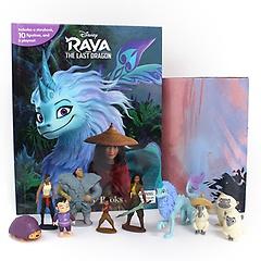 "<font title=""Disney Raya Last Dragon My Busy Books 디즈니 라야와 마지막 드래곤 비지북 (미니피규어 10개 + 놀이판) "">Disney Raya Last Dragon My Busy Books 디...</font>"