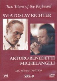 피아노의 두 거장 : 리히터 / 미켈란젤리 - DVD