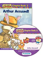 Arthur Chapter Book 5. Arthur Accused! (Paperback + CD)