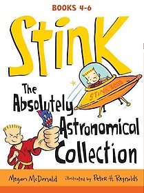 """<font title=""""Stink: The Absolutely Astronomical Collection, Books 4-6 (Paperback:3)"""">Stink: The Absolutely Astronomical Colle...</font>"""