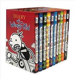 """<font title=""""Diary of a Wimpy Kid Box of Books (Paperback)"""">Diary of a Wimpy Kid Box of Books (Paper...</font>"""