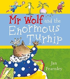 """<font title=""""Mr Wolf and the Enormous Turnip (Paperback)"""">Mr Wolf and the Enormous Turnip (Paperba...</font>"""