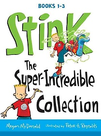 """<font title=""""Stink: The Super-Incredible Collection, Books 1-3 (Paperback:3)"""">Stink: The Super-Incredible Collection, ...</font>"""
