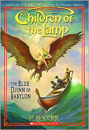 Blue Djinn of Babylon : Children of the Lamp (Paperback))