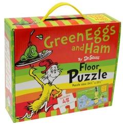 Green Eggs and Ham : Floor Puzzle