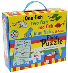"""<font title=""""One fish two fish red fish blue fish : Floor Puzzle"""">One fish two fish red fish blue fish : F...</font>"""