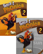Smart Phonics 2: Student Book+Workbook 패키지 (교재:2+CD:1/ New Ed.)