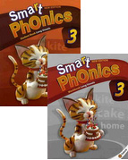 Smart Phonics 3: Student Book+Workbook 패키지 (교재:2+CD:1/ New Ed.)