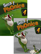 Smart Phonics 4: Student Book+Workbook 패키지 (교재:2+CD:1/ New Ed.)