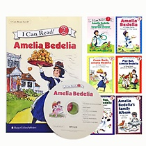 I Can Read �׸� Set 7 : Level 2. Amelia Bedelia �ø��� 6�� ��Ʈ (å6��+CD1��)