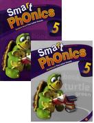 Smart Phonics 5: Student Book+Workbook 패키지 (교재:2+CD:1/ New Ed.)