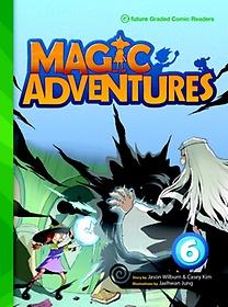 "<font title=""Magic Adventures 6 : Story Book + Audio CD:3 (Paperback, 학부모가이드/단어카드 포함)"">Magic Adventures 6 : Story Book + Audio ...</font>"