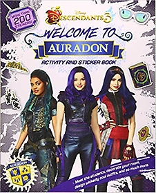"""<font title=""""Welcome to Auradon: A Descendants 3 Sticker and Activity Book (Paperback)"""">Welcome to Auradon: A Descendants 3 Stic...</font>"""