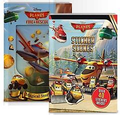 Disney Planes: Storybook+Sticker Scenes