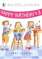 Easy Stories : Happy Birthday x 3 (Paperback + CD)