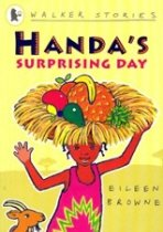 Easy Stories : Handa's Surprising Day (Paperback + CD)