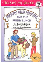 """<font title=""""Ready-To-Read Level 2. Henry and Mudge #24 : And The Funny Lunch (Paperback)"""">Ready-To-Read Level 2. Henry and Mudge #...</font>"""