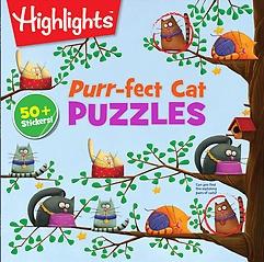 Purr-fect Cat Puzzles (Paperback)