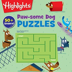 Paw-some Dog Puzzles (Paperback)
