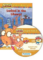 Arthur Chapter Book 6. Locked in the Library! (Paperback + CD)
