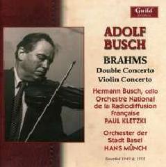 Adolf Busch - 아돌프 부슈 - 브람스: 바이올린 협주곡, 2중 협주곡 (Adolf Busch - Brams: Violin Co..
