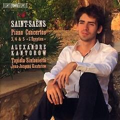 생상스 : 피아노 협주곡 3, 4 & 5번 - 장-자크 칸토로우 [SACD]