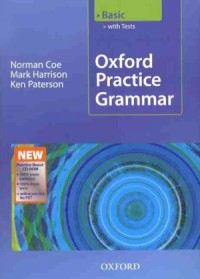 """<font title=""""Oxford Practice Grammar with Answers and CD-ROM :  Basic (Paperback/ New Edition) """">Oxford Practice Grammar with Answers and...</font>"""