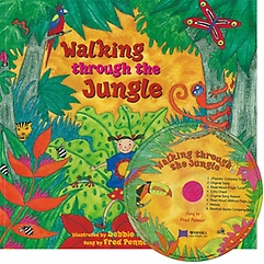 "<font title=""[노부영] Walking Through the Jungle (Paperback + CD) "">[노부영] Walking Through the Jungle (Pap...</font>"