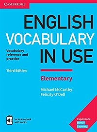 "<font title=""English Vocabulary in Use: Elementary with Answers and Enhanced eBook (Paperback/ 3rd Ed.)"">English Vocabulary in Use: Elementary wi...</font>"