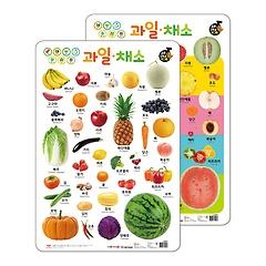 NEW 소리 나는 벽그림 - 과일, 채소