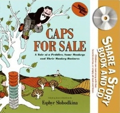Caps for Sale (Paperback +CD)