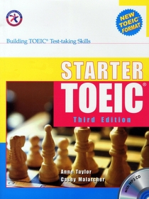 "<font title=""Starter TOEIC - Building TOEIC Test-taking Skills: Student Book (Paperback+MP3 CD:1/ 3rd Ed.)"">Starter TOEIC - Building TOEIC Test-taki...</font>"
