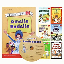 I Can Read 테마 Set 8 : Level 2. Amelia Bedelia 시리즈 6종 세트 (책6권+CD1장)