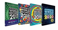 기네스 세계기록 2017~2020 4권 세트