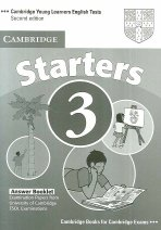 """<font title=""""Cambridge Young Learners English Tests Starters 3 : Answer Key (2nd Edition/ Paperback)"""">Cambridge Young Learners English Tests S...</font>"""