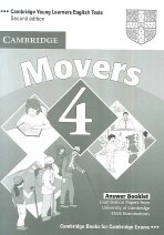 """<font title=""""Cambridge Young Learners English Tests Movers 4 : Answer Key (2nd Edition/ Paperback)"""">Cambridge Young Learners English Tests M...</font>"""