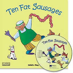 "<font title=""[노부영] Ten Fat Sausages (Paperback+CD/ 세이펜에디션)"">[노부영] Ten Fat Sausages (Paperback+CD/...</font>"