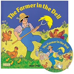 """<font title=""""[노부영] The Farmer in the Dell (Paperback+CD/ 세이펜에디션)"""">[노부영] The Farmer in the Dell (Paperba...</font>"""
